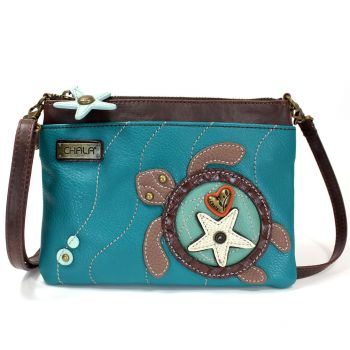 Sea Turtle - Mini Crossbody (Turquoise)