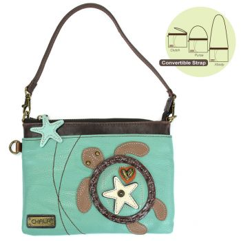Sea Turtle - Mini Crossbody (Teal)