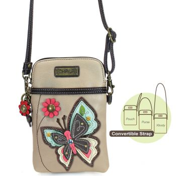 New Butterfly - Cell Phone Xbody (Ivory)