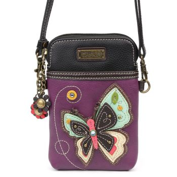 New Butterfly - Cell Phone Xbody (Purple)
