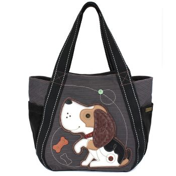 Dog A - Carryall Zip Tote
