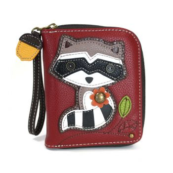 Raccoon - Zip Around Wallet