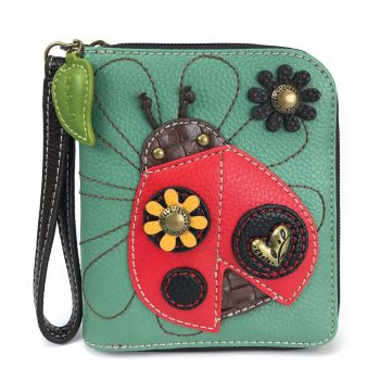 Ladybug - Zip Around Wallet