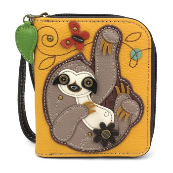 Sloth - Zip Around Wallet