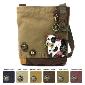 Cow - Patch Crossbody Bag