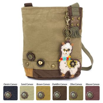 Llama - Patch Crossbody Bag