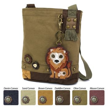 Lion - Patch Crossbody Bag