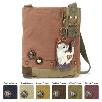 Slim Cat - Patch Crossbody Bag