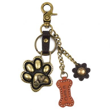 Charming Key Chain - Paw Print