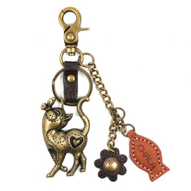 Charming Key Chain - Slim Cat