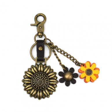 Charming Key Chain - Sunflower