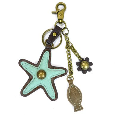 Charming Key Chain - Starfish
