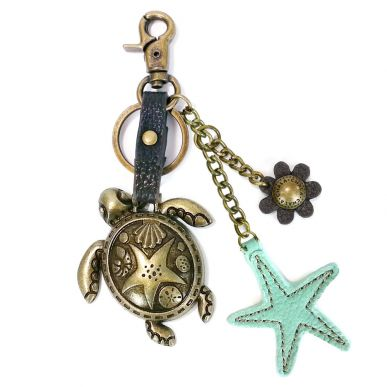 Sea Turtle 1 - Charming Key Chain