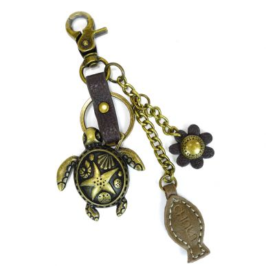 Charming Key Chain - Turtle & Fish