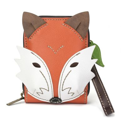 Cute-C - Credit Card Holder / Wallet Wristlet - Fox