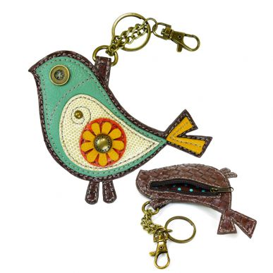 Bird II - Key Fob/Coin Purse