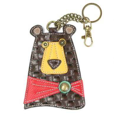 Brown Bear - Key Fob/Coin Purse