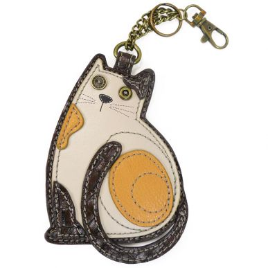 LaZzy Cat - Key Fob/Coin Purse