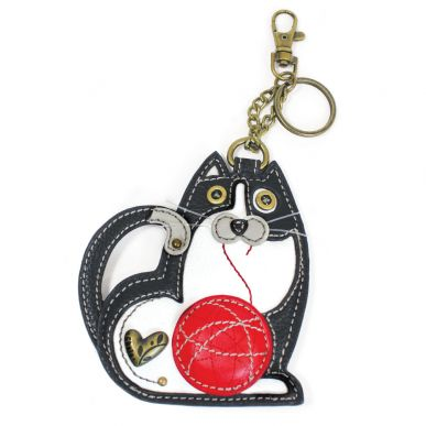 Fat Cat - Key Fob/Coin Purse