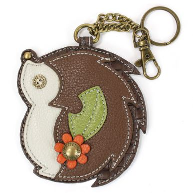 Hedgehog - Key Fob/Coin Purse