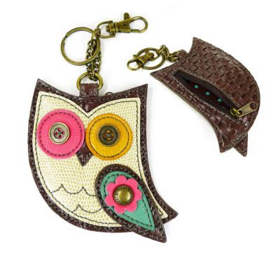 Owl II - Key Fob/Coin Purse