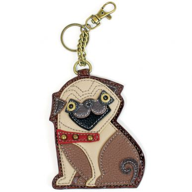 Pug - Key Fob/Coin Purse
