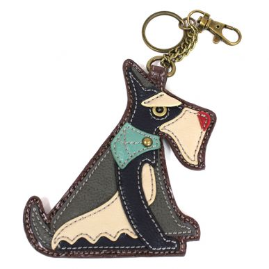 Schnauzer - Key Fob/Coin Purse