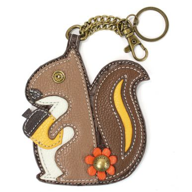 Squirrel - Key Fob/Coin Purse
