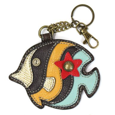 Tropical Fish - Key Fob/Coin Purse