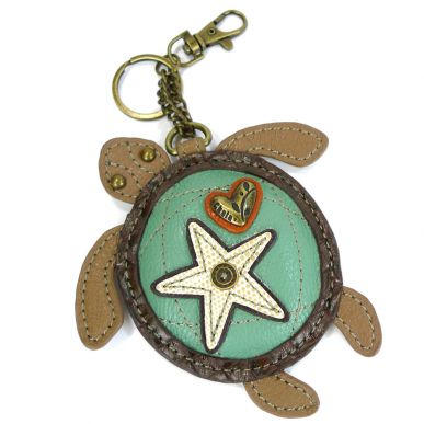 Sea Turtle - Key Fob/Coin Purse