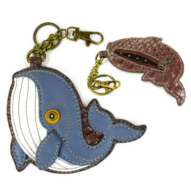 Whale - Key Fob/Coin Purse