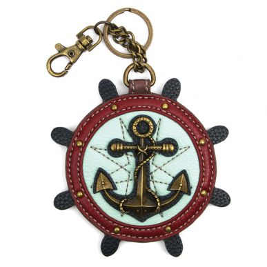 Anchor - Key Fob/Coin Purse
