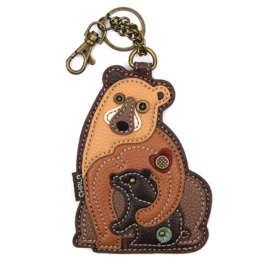 Two Bears - Key Fob/Coin Purse