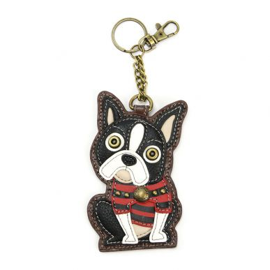 Boston Terrier - Key Fob/Coin Purse