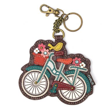 Coin Purse / Key Fob - Bicycle