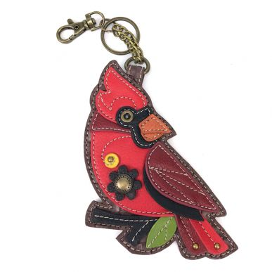 Cardinal - Key Fob/Coin Purse