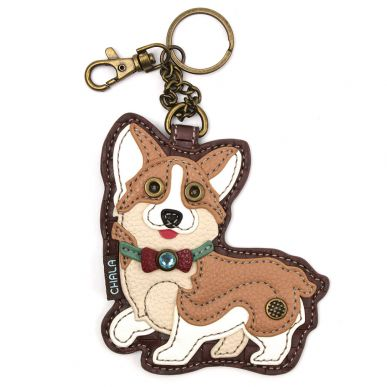 Corgi - Key Fob/Coin Purse