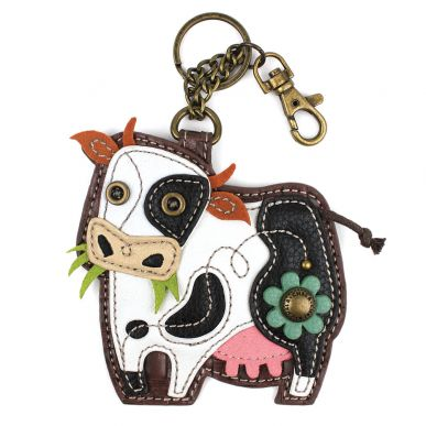 Cow - Key Fob/Coin Purse