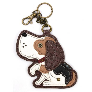 Dog A  - Key Fob/Coin Purse