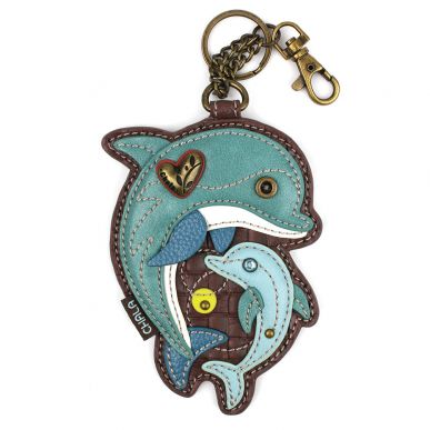 Dolphin - Key Fob/Coin Purse