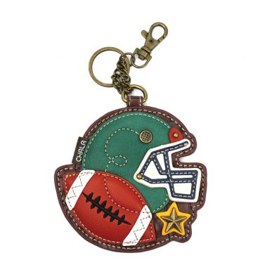 Coin Purse / Key Fob - Football