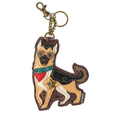 German Shepherd - Key Fob/Coin Purse