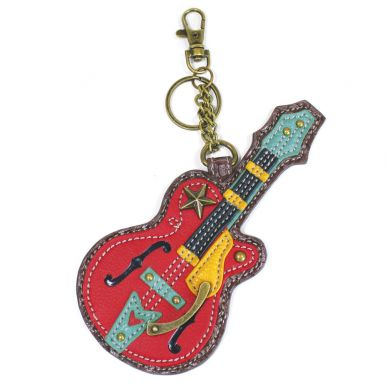 Guitar - Key Fob/Coin Purse
