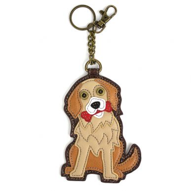 Golden Retriever - Key Fob/Coin Purse