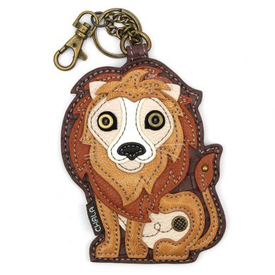 Lion - Key Fob/Coin Purse