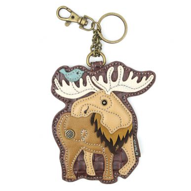 Coin Purse / Key Fob - Moose