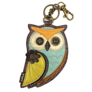 Owl A - Key Fob/Coin Purse