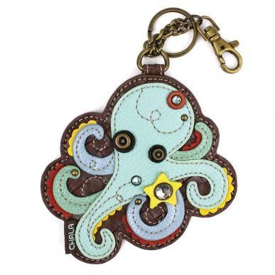 Octopus - Key Fob/Coin Purse