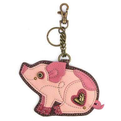 Pig - Key Fob/Coin Purse