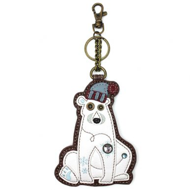 Polar Bear - Key Fob/Coin Purse